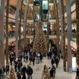 Weihnachtsshopping in den Großstädten