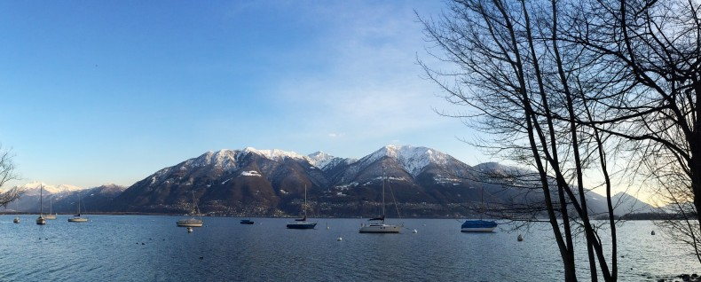Locarno im Winter