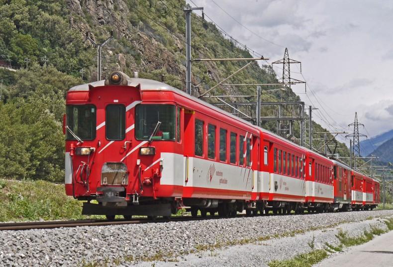 Mit dem Zug durch den Tessiner Kanton