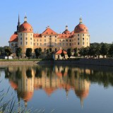Moritzburg: Raus aus der Stadt