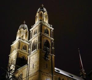 Zürich Kirche - H+ Hotel Zürich