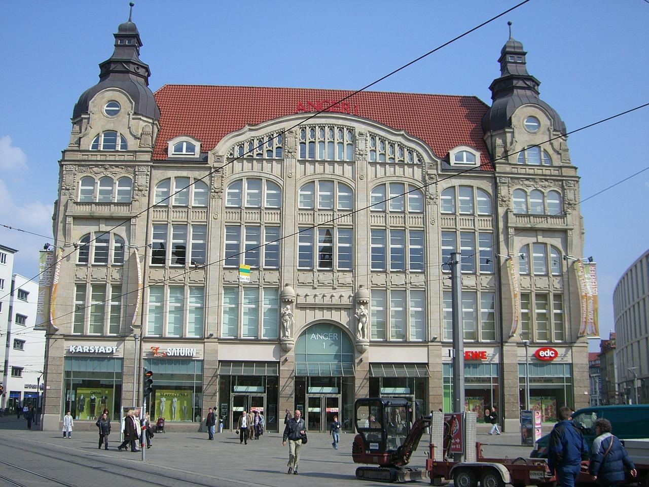Innenstadt Erfurt - H+ Hotel Erfurt