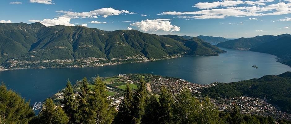 Lago Maggiore von oben