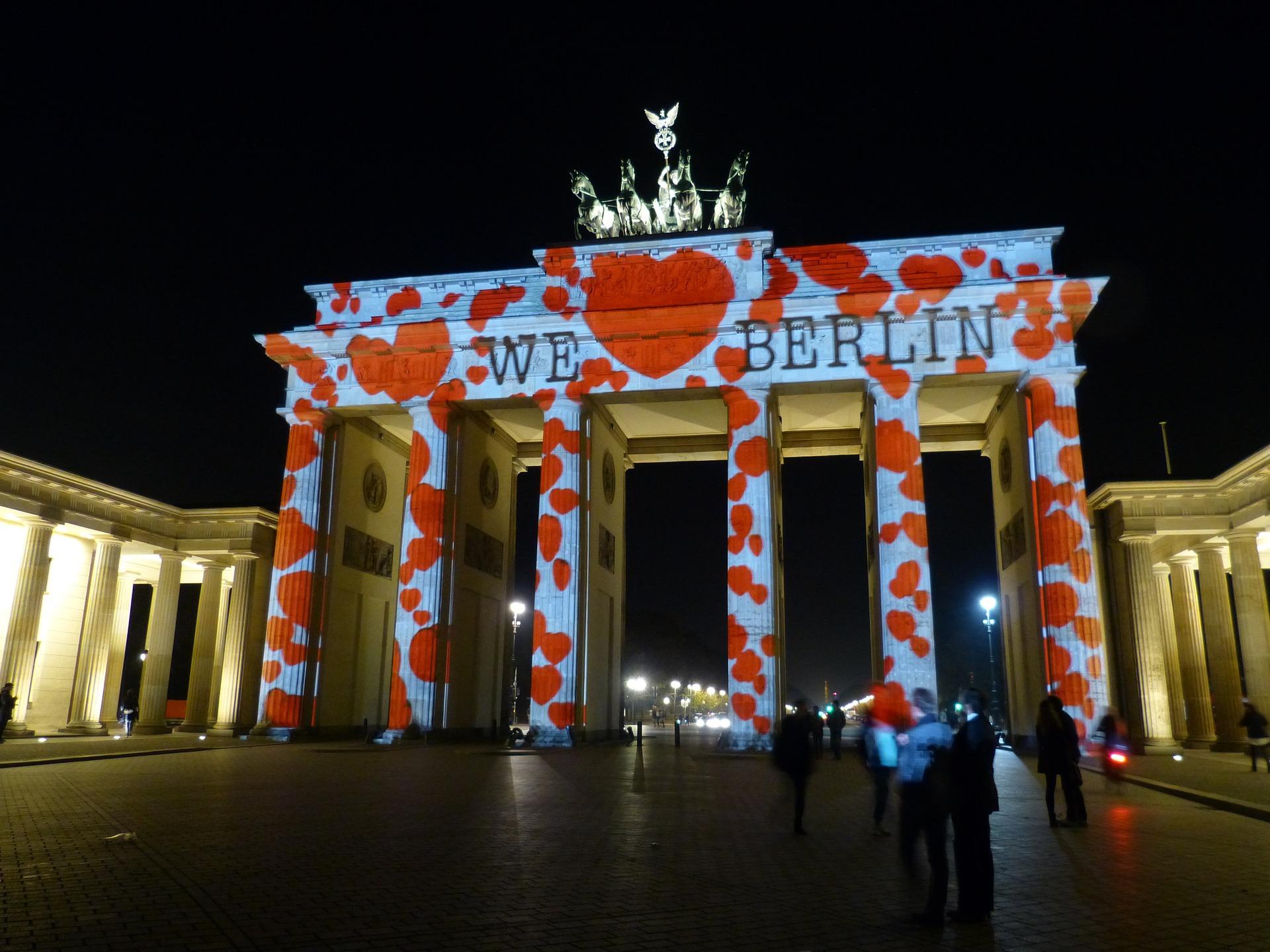 Berlin leuchtet - Brandenburger Tor