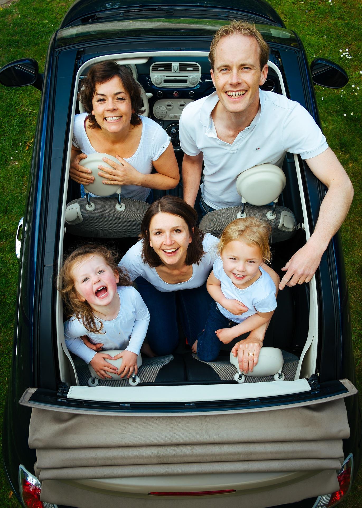 Auf geht's in den Familienurlaub