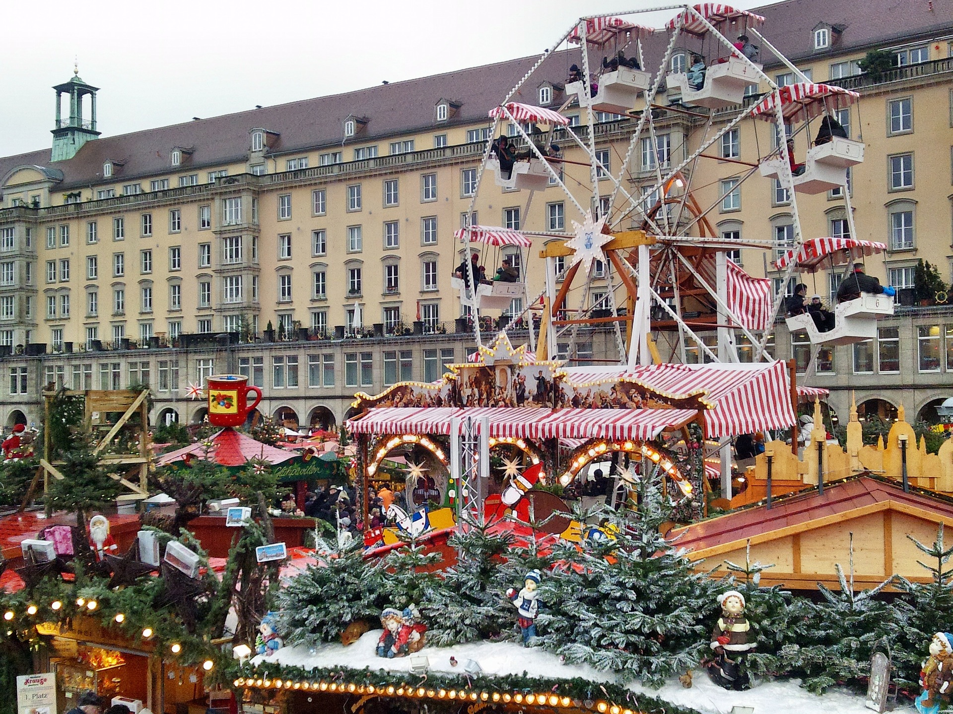Christmas-Shopping in Dresden