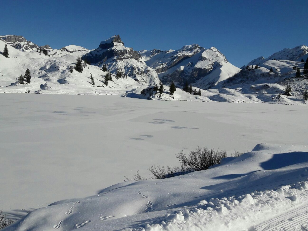 Winterzauber in Engelberg