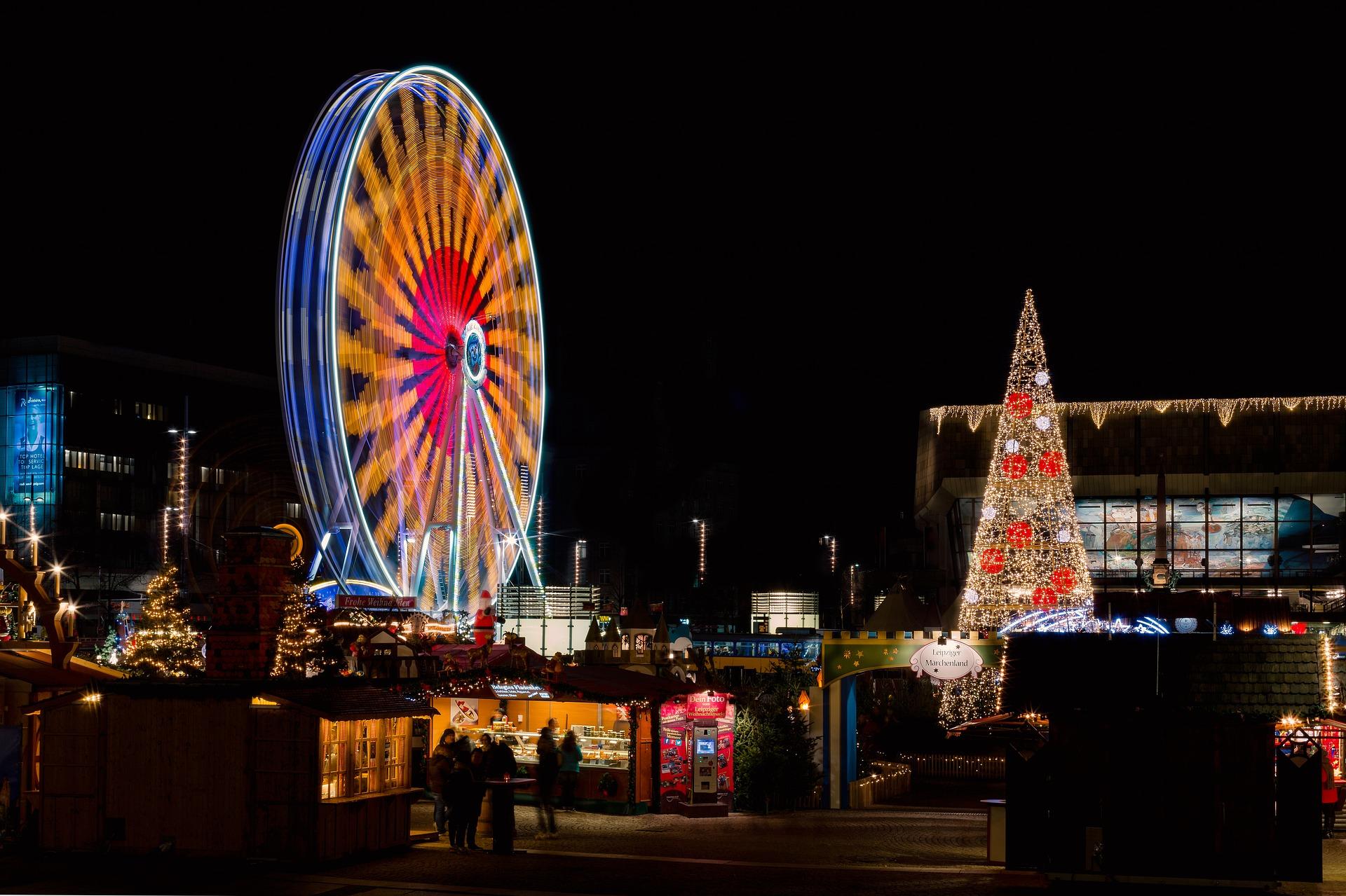 Leipziger Weihnachtsmarkt.Der Leipziger Weihnachtsmarkt Ladt Zum Entdecken Und