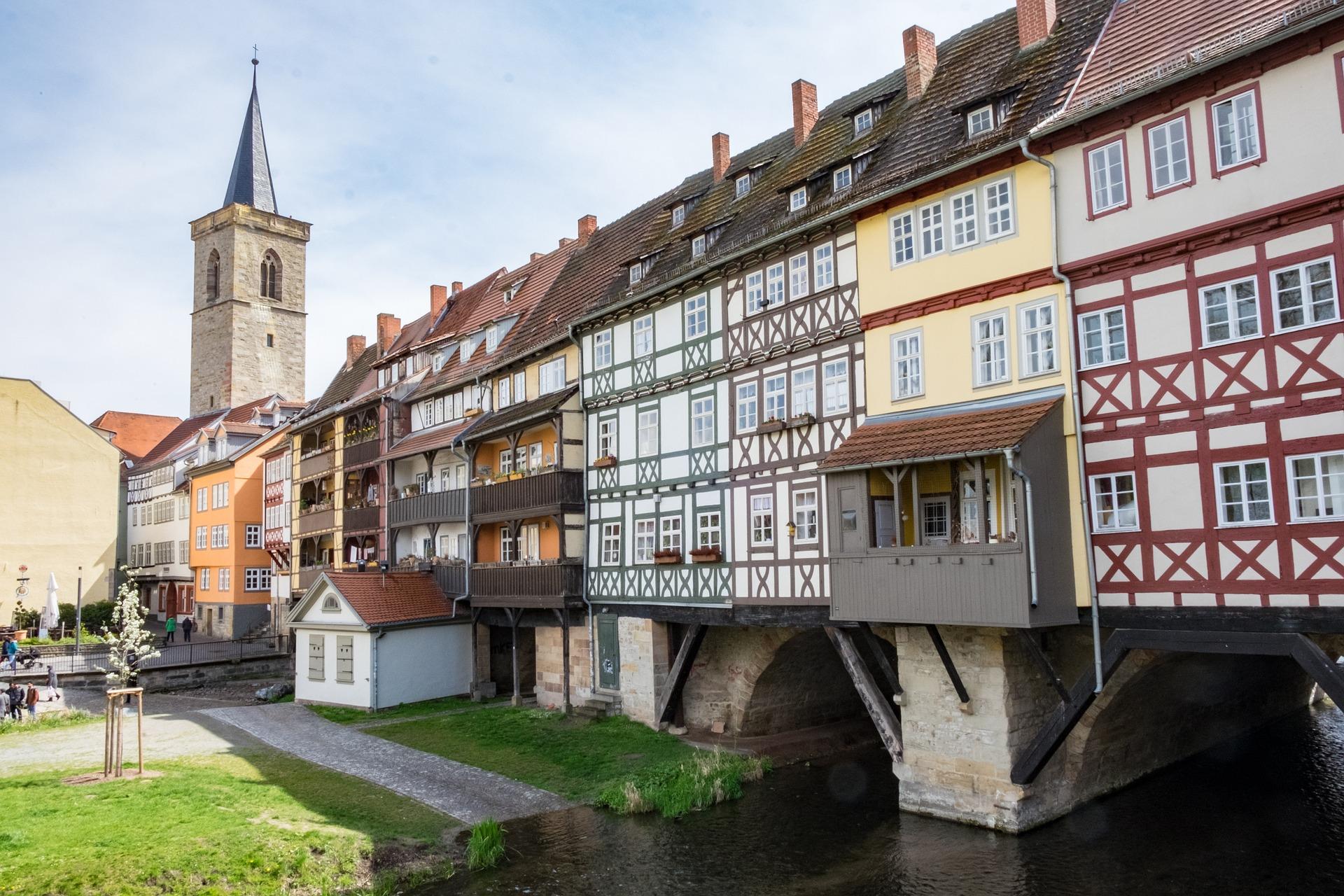 Sightseeing in Erfurt