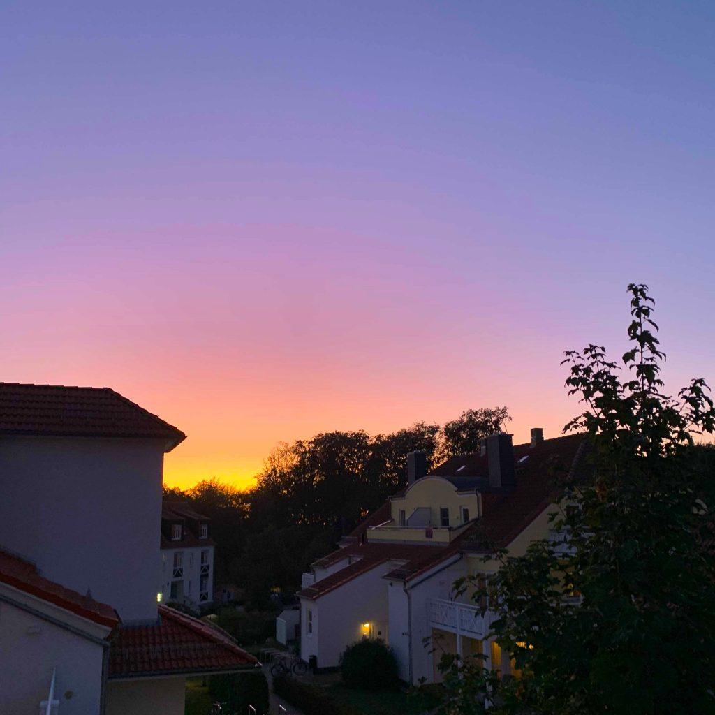 Sonnenuntergang im H+ Ferienpark Usedom | H-Hotels.com