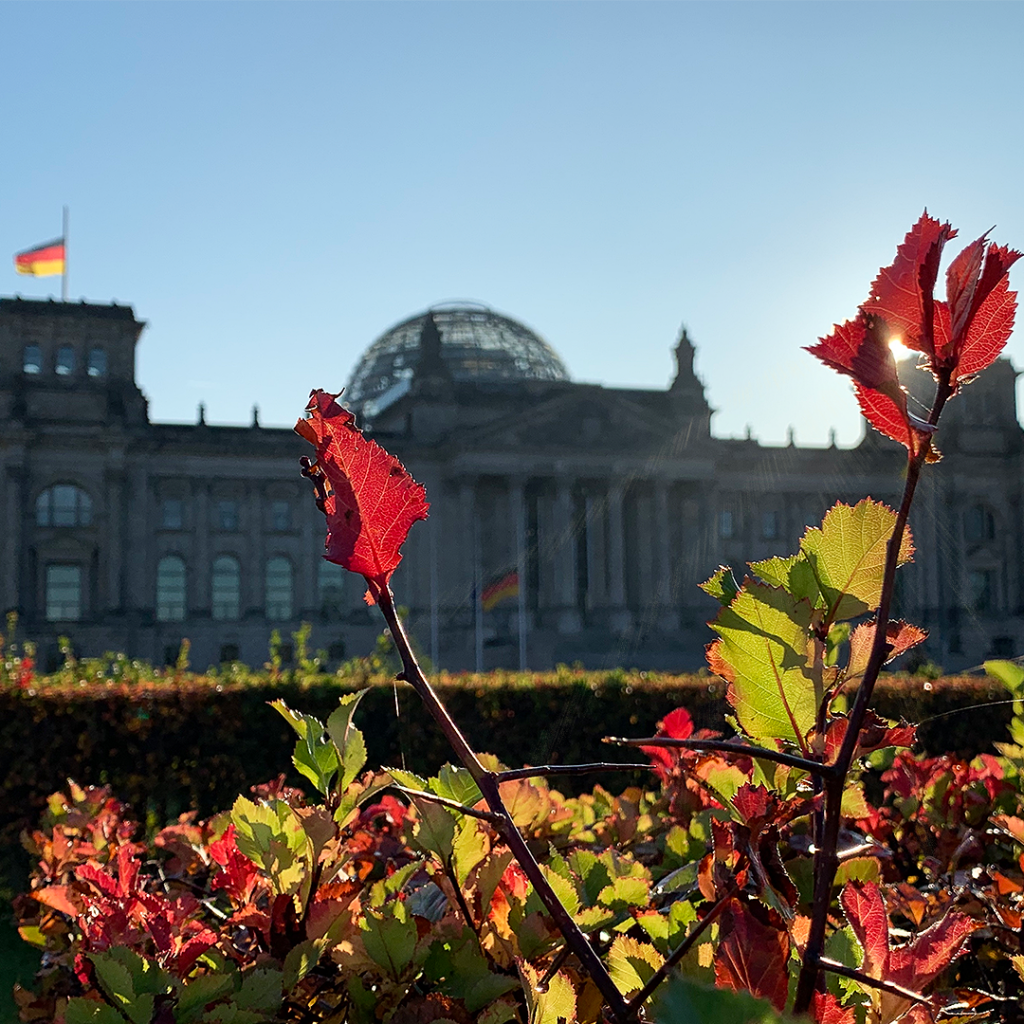 Bundestags-Gebäude   Berlin