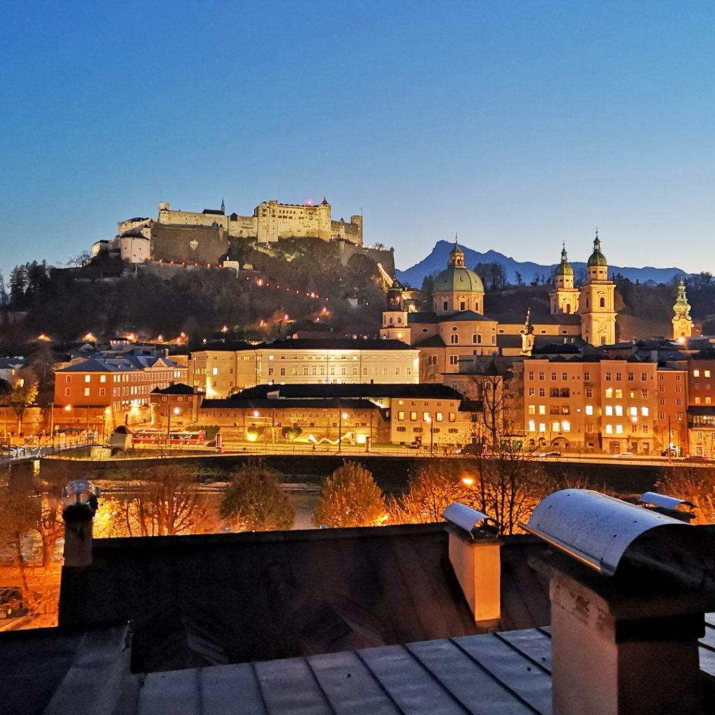 Festung Sonnenuntergang | Salzburg