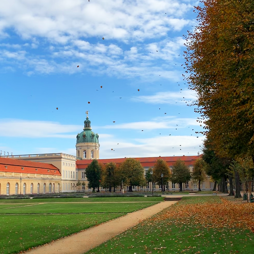 Schlosspark Schloss Charlottenburg   Berlin