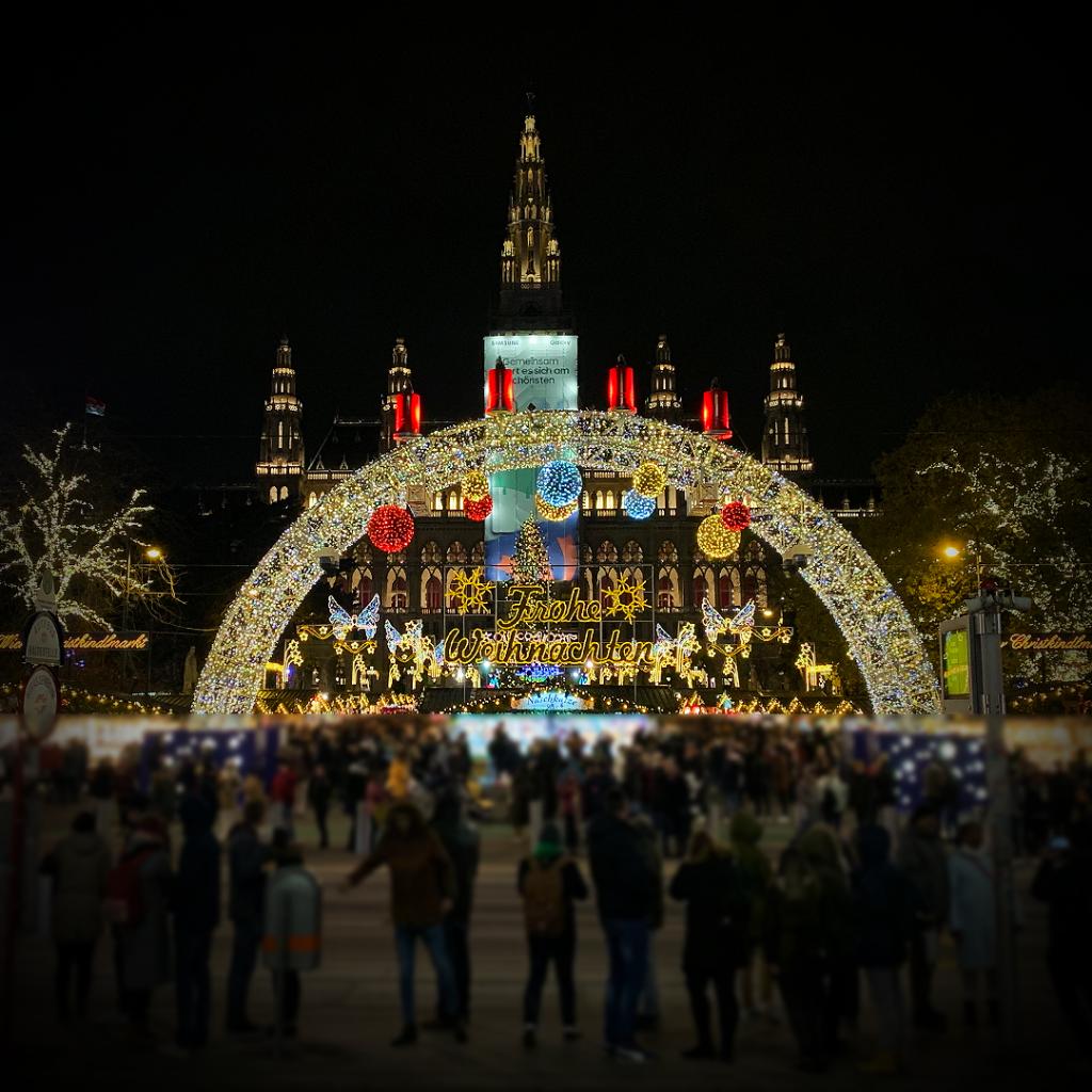 Wien-Weihnachtsmarkt-Rathausplatz